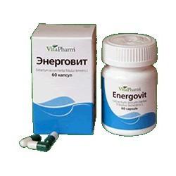 Energovit caps. 250 mg N60