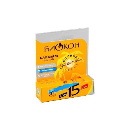 Biokon balsam pentru buze SPF15 4.6g