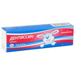 Dentissin gel 0.5% 10gr