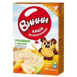 Terci f/lapte Винни hrisca+para 220 gr