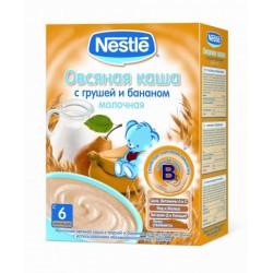 Nestle terci ovaz cu lapte+pere+banane