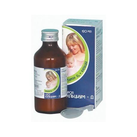 Calcium-D 120 ml sirop