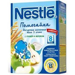 Nestle terci iaurt-lapte 3 злака mere+pe
