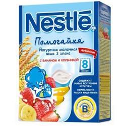 Nestle terci iaurt-lapte 3 злака banana+