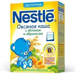 Nestle terci de lapte cu mar+caise 250g
