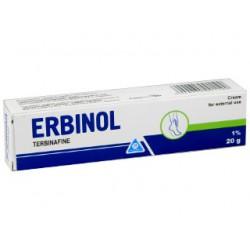Erbinol crema 1% 20gr