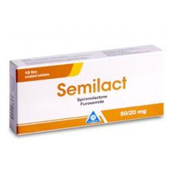 Semilact 50mg+20mg comp. N10
