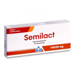 Semilact 100mg+20mg comp. N10