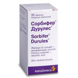 Sorbifer Durules tab N30 +%