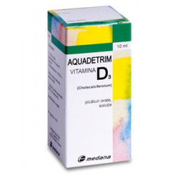 Aquadetrim vitamina D3 picat. 10ml