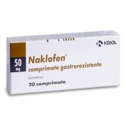 Naclofen tab 50mg N20