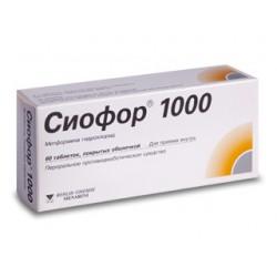 Siofor-1000 tab N60