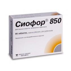 Siofor-850 tab N60