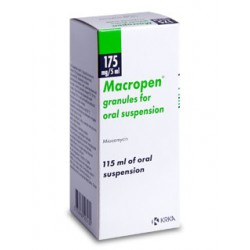 Macropen susp 175mg/5ml 115ml