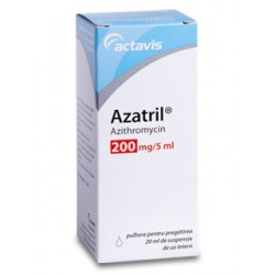 Azatril 200 mg/5ml 20 ml susp. pulv.