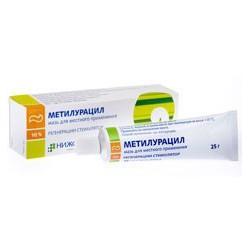 Metiluracil ung 10% 15g