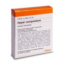 Hepar compositum fiole N5