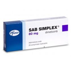 Sab Simplex tab. 80mg  N20