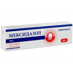 Mexidazol gel 20gr