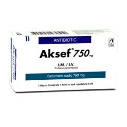 Aksef 750mg  N1 solv