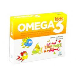 Omega 3 Kids Tutti-Frutti caps.mastic.