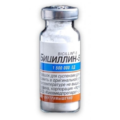 Bicilin-5 KMP 1500000UI N1