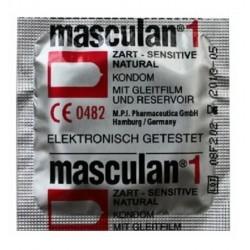 """Prezervative """"Masculan 1""""  N1(sensitive)"""
