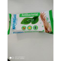 Servetele umede antibacteriale Naturelle N48 (patlagina)