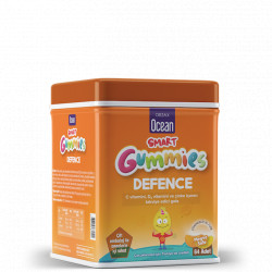 Ocean Smart Gummies Defence (vit.C+Zn+D3) jeleuri N64