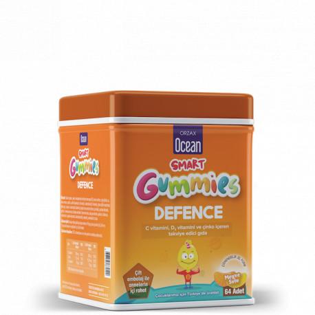 Ocean Smart Gummies Defence (vit.C+Zn+D3) jeleuri N64