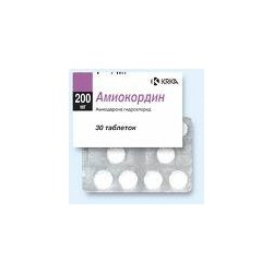 Amiokordin tab 200mg N30