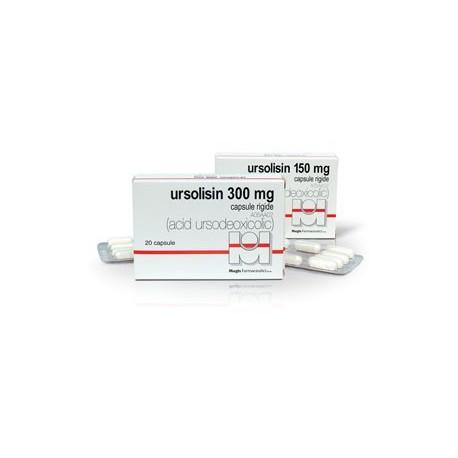 Ursolisin 150 mg N20 caps