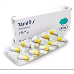 Tamiflu 75 mg caps. N10