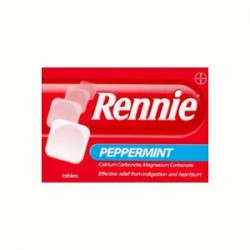 Rennie Peppermint tab N24