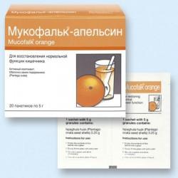Mucofalk Orange pac 5g N20
