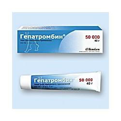 Hepatrombin ung 50000UI 40g