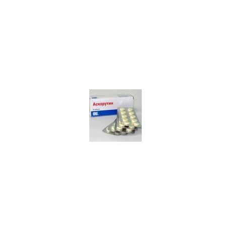 Ascorutin Comp. 50 mg+50 mg N10x5