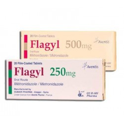 Flagyl tab 250mg N20