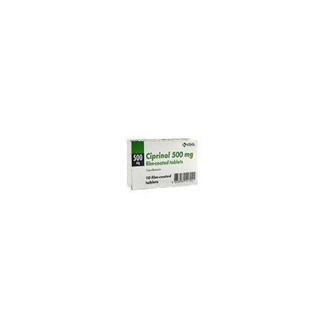 Ciprinol Comp. film. 500 mg N10