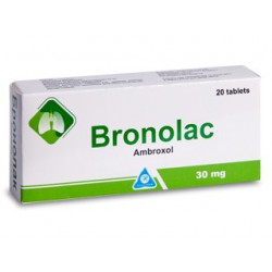 Bronolac 30 mg comp. N20
