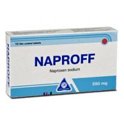 Naproff comp. film. 550mg N10
