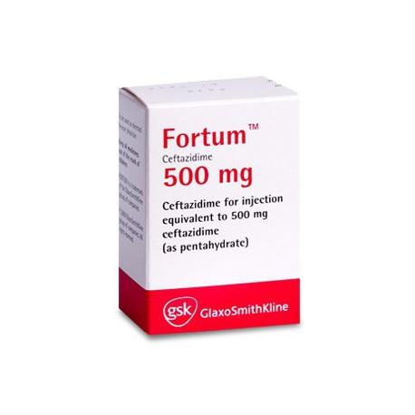 Fortum 0.5gr pulb./sol.inj. N1
