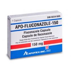 Apo Fluconazol caps. 150 mg N1 (apote