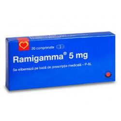 Ramigamma 5 mg tab. N20