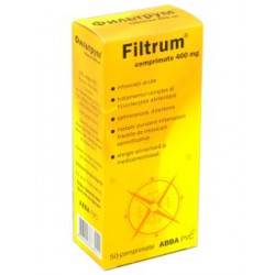 Filtrum tab. 400 mg N50