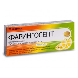 Faringosept-L tab N20 (gust de lamai)