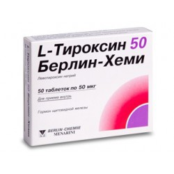 L-Thyroxin-50 BC tab N50