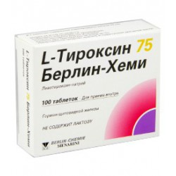 L-Thyroxin-75 BC tab N100