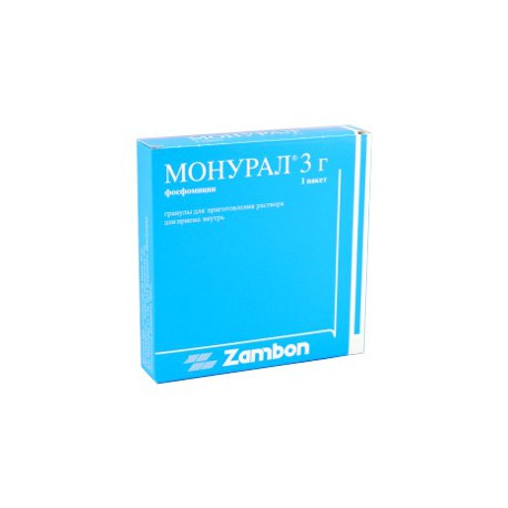 Monural gran/sol. orala 3 gr N1