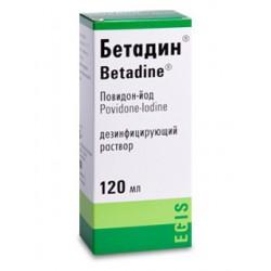 Betadine sol 10% 120ml